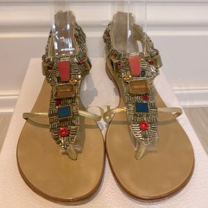 Giuseppe Jewelled Gladiator Sandals